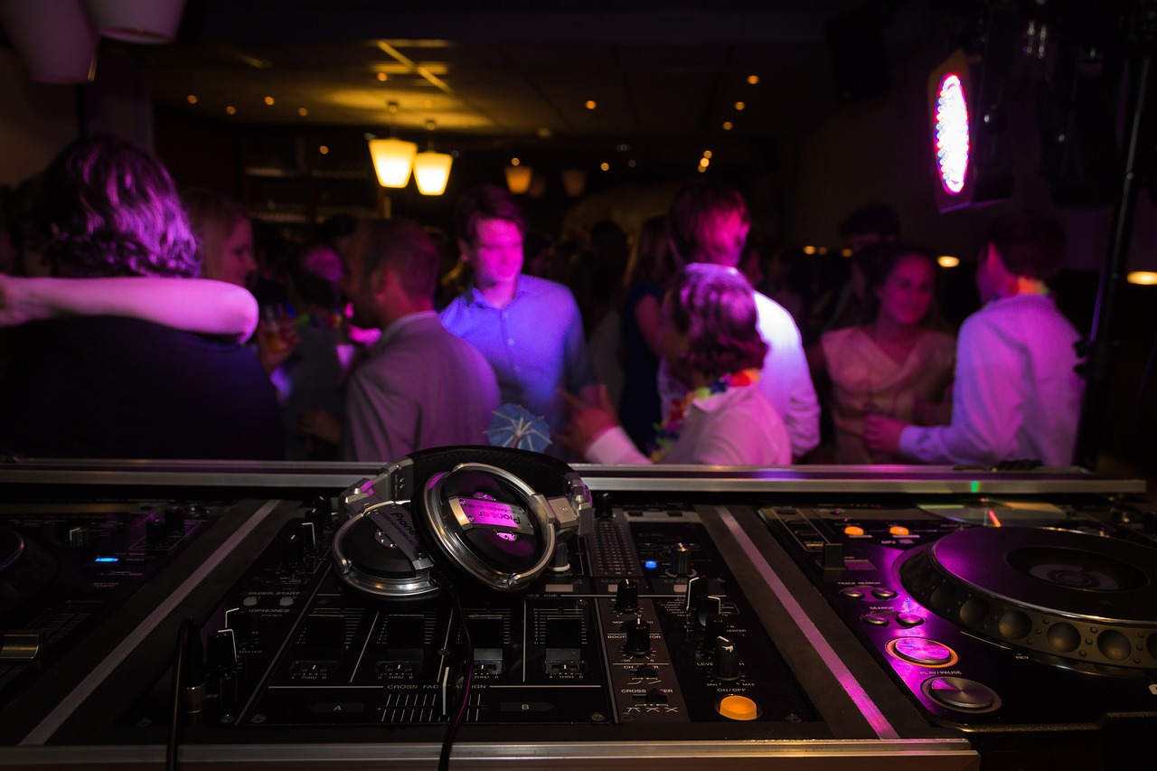 party, music, dj